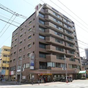 兵庫県 明石市野々上 JR西明石駅から徒歩12分 通りから目立ちやすい建物 角地 駐車場あり 2階テナント