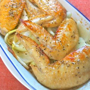 オーブントースターで簡単おつまみ!本みりんでこんがり&ジューシー手羽先。