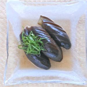 あごだししょうゆ煮で簡単&絶品!ひんやり煮浸し2種〜ナスと冬瓜。