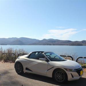 S660 de 桧原湖一周。