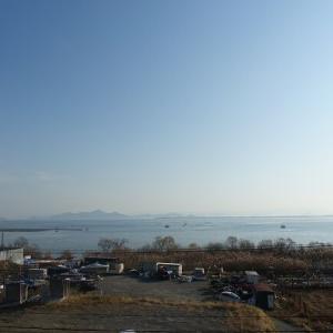 琵琶湖に漂う清々しい空気を感じて