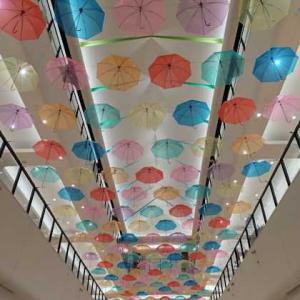 Arioで傘の花