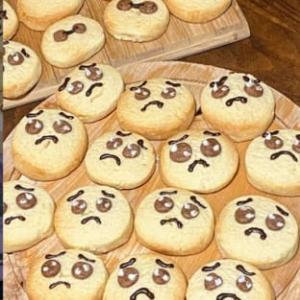しおもものぴえんクッキー(笑)