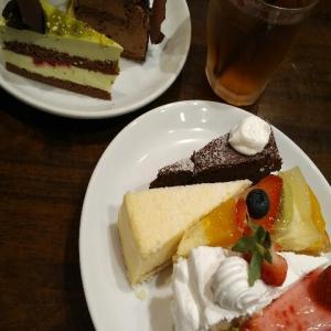 【最新版】西新宿・都庁前にある『66カフェ 西新宿店(旧ムフタール・ドゥ・パリ)』のケーキとオムライス食べ放題プラン・スイーツビュッフェ・ケーキバイキング・デザートブッフェ(2020年7月)♪♪♪♪♪♪♪♪