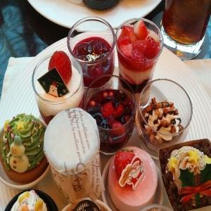 【年末】恵比寿にあるウェスティンホテル東京『ザ・テラス(THE WESTIN TOKYO THE TERRACE)』のクリスマスデザートブッフェ&ケ-キバイキング・スイーツビュッフェ(2020年12月)♪♪♪♪♪♪