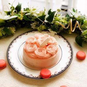 バタークリームのオーダーケーキ