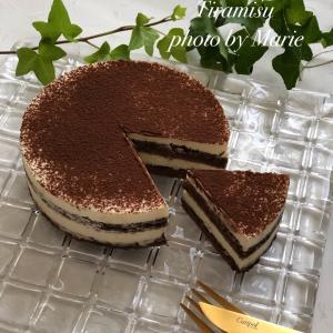 ティラミスケーキの新レシピ