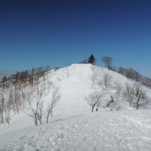 冬はこの山 飛騨市の猪臥山