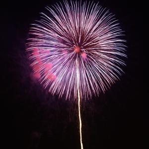 神通川での花火大会