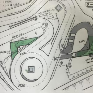 明日は美浜サーキットのダート改修です!