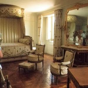 アントワネットの寝室家具の柄