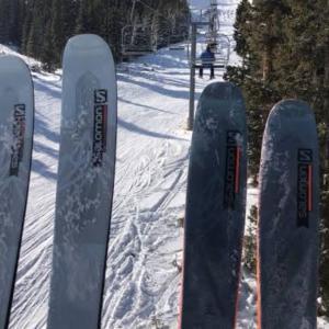 2022モデルのスキーがぼちぼち発表