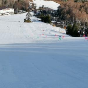 一の瀬早朝スキー