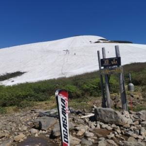 6.9 初夏の月山スキー場
