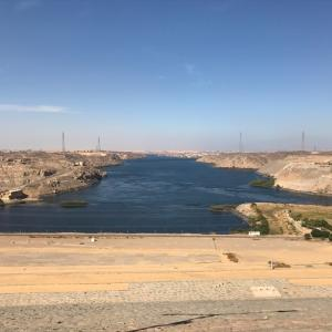 エジプト ナイル川クルーズ船へチェックイン