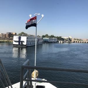 エジプト ナイル川 エスナの水門