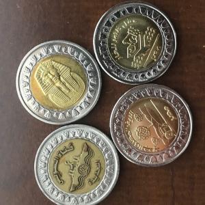 エジプトのコイン