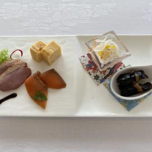 ホテルでお祝い膳♪