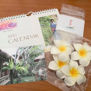 バリ島 麻生クミさんのカレンダー
