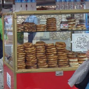 トルコのパン シミット