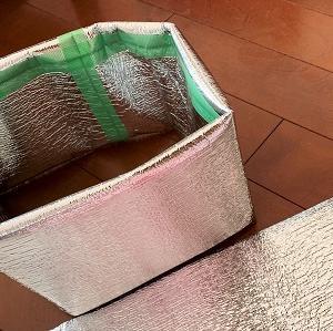 100均の断熱シートで冬のメダカ鉢を守る