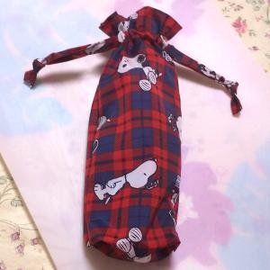 *スヌーピー柄折りたたみ傘袋*
