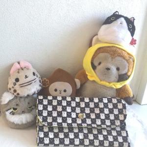 手作り教室ワンコ~フリーレッスン*猫柄長財布~