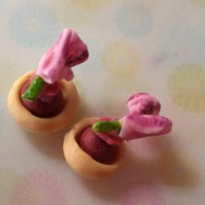趣味の時間~ミニチュアフード*桜もなか~