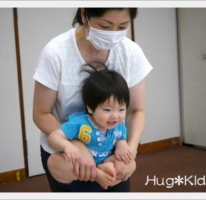 広島市佐伯区で未就園児さんの親子教室でした チャイルドリトミック♪1歳2歳はぐきっずきりん組