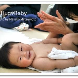 広島市で赤ちゃんとママのベビーマッサージ・ベビーヨガ親子サークルでした♡8月参加募集会場あり