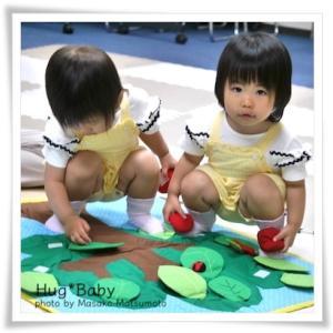 双子ちゃんも通われてます★広島市育児支援サークルはぐ*べいびー★夏スタートクラス残席1