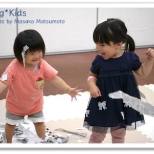 広島市佐伯区で未就園児さんの親子教室でした チャイルドリトミック♪1歳2歳プレ幼稚園クラス