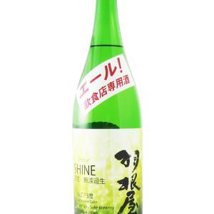 羽根屋 ( はねや ) SHINE 飲食店限定 無濾過直汲み生原酒 !
