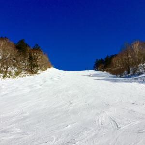 戸隠スキー場2日目は快晴!!最高〜♪