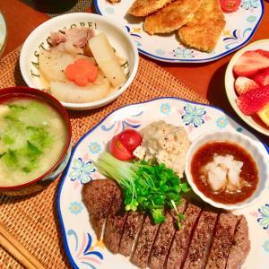 家飲み&家ご飯♪ 明日は栃木でゴルフ♪