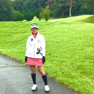 ゴルフ場の手前で大雨!?どうする?