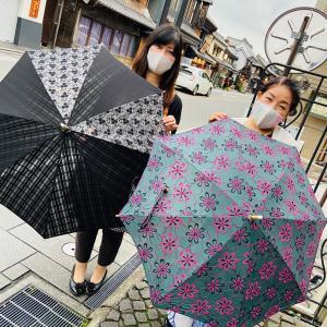 日傘出来たー!ハンドメイドの会にて