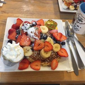カフェカイラの朝食