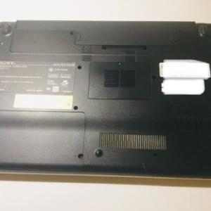 【vaioノートPC 救出作戦】序章:まずはSSD換装の準備。そして悲劇…。