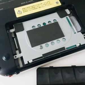 【vaioノートPC 救出作戦】クローンにてSSD換装!でも問題が…!