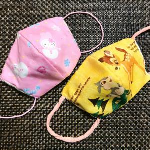 手抜き快適手縫いマスク(大人&子ども用)