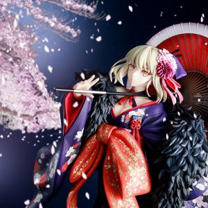 【Fate/stay night [HF]】KADOKAWA「セイバーオルタ 着物Ver.」予約開始!武内崇氏による着物姿イラストをもとにフィギュア化 ※ショップ特典追記