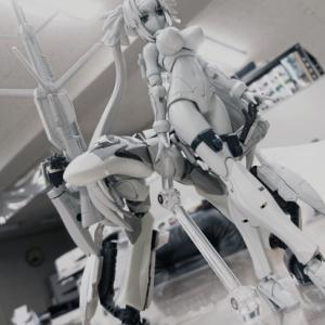 【マクロスF】VFガール「VF-25G クラン・クラン(仮)」プラモのガウォーク形態公開