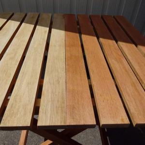 【コールマン】テーブル&チェアーの塗装 Day2