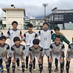 R1/9/1(日) 全国高校サッカー選手権大会 広島県予選 1回戦 結果