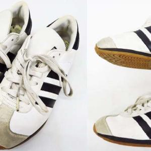 t137/98年製 adidas COUNTRY 白黒 アディダス 美品 売約済み