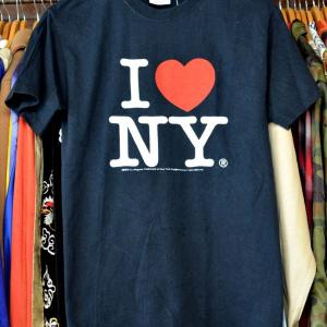 t781/I LOVE NY アイラブニューヨーク Tシャツ 美品 サイズS