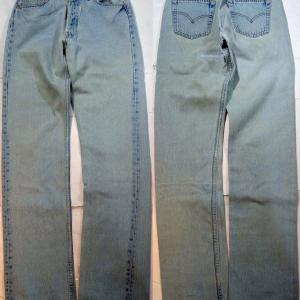 t662/LEVIS501アメリカ製 MADE IN U.S.A. 色落ち抜群 !'97.11