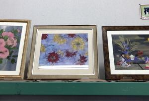 農協のミナクル市に10年来押花絵飾らせて頂きます。