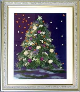クリスマスツリー 36額 池野のり子